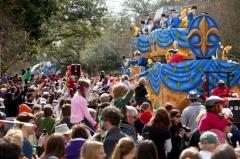 Uptown parade via Nola.com